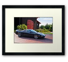 Acura NSX 'Winery Run' Framed Print