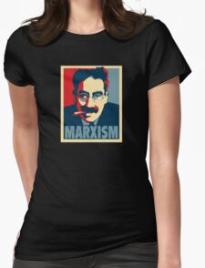 Groucho Marx-ism Womens Fitted T-Shirt