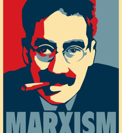 Groucho Marx-ism Sticker