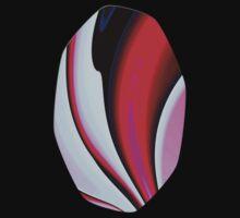 Abstract Fractal Colorways 02BPk Kids Tee