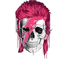 Bowie Skull Photographic Print