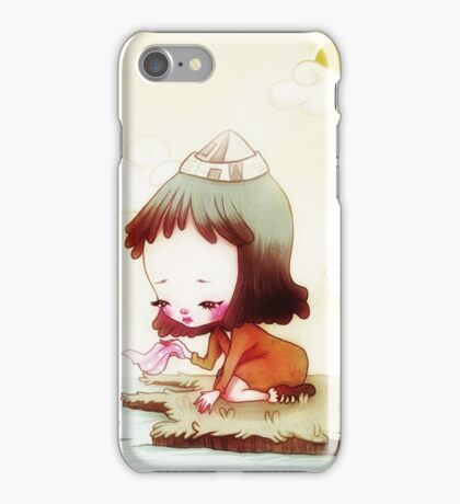 Embarking on a Curious Adventure iPhone Case/Skin