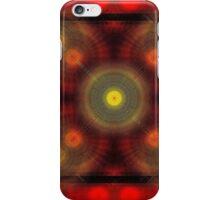 the matrix of converging spirals  iPhone Case/Skin