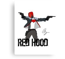 Arkham Knight Red Hood Canvas Print