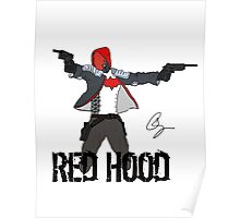 Arkham Knight Red Hood Poster