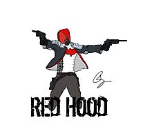 Arkham Knight Red Hood Photographic Print