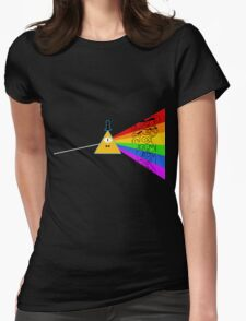 The dark side of Gravity falls  Womens Fitted T-Shirt