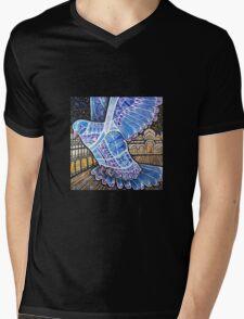 Compass the Pigeon Mens V-Neck T-Shirt