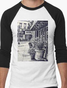 Along the sidewalk Men's Baseball ¾ T-Shirt