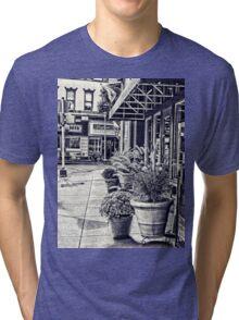 Along the sidewalk Tri-blend T-Shirt