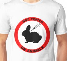 No Animal Testing Unisex T-Shirt