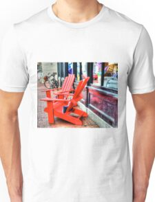 Red Chairs Unisex T-Shirt