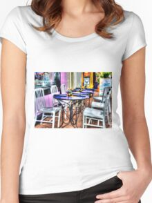 Table for Six Women's Fitted Scoop T-Shirt