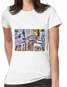 Table for Six Womens Fitted T-Shirt