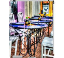 Table for Six iPad Case/Skin