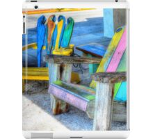 Parrot Chairs iPad Case/Skin