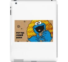 Put the cookie down iPad Case/Skin