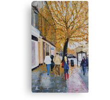 A Rainy Day in St. Andrews, Scotland Canvas Print