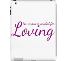 One is loved iPad Case/Skin