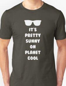 Planet Cool (White) Unisex T-Shirt