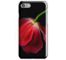 The Red Tulip iPhone Case/Skin