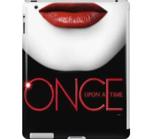 Once upon a time- Evil queen 2 iPad Case/Skin