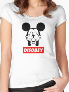FREAK disobey Women's Fitted Scoop T-Shirt
