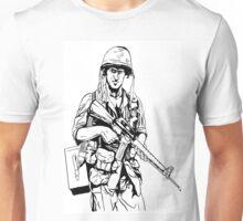 Vietnam Soldier Graphic Unisex T-Shirt