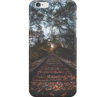 Autumn Train Tracks iPhone Case/Skin