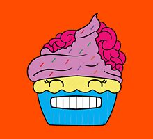 Cupcake brains the second Unisex T-Shirt