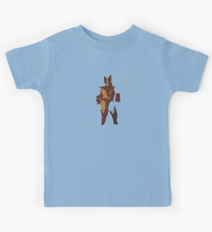 Wolverine Brown & Tan Kids Tee