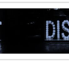 EAT DISCO Sticker