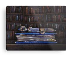 Doctor Who Silence Library Screwdriver Metal Print