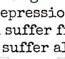 PBWD (Post Binge-Watch Depression) Sticker