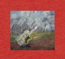 Landscape!Seagull!Guitar! Tri-blend T-Shirt