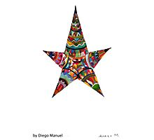 Estrella americana by Diego Manuel Photographic Print