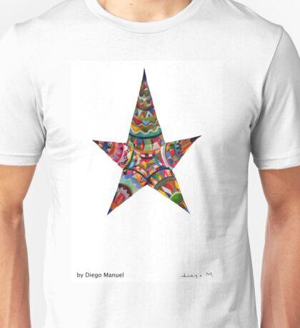 Estrella americana by Diego Manuel Unisex T-Shirt