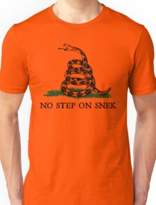 No Step on Snek Graphic Unisex T-Shirt