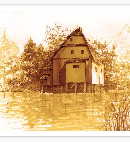 Watermill Sticker