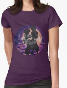 A Whole New World Womens Fitted T-Shirt
