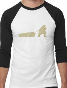 The D is silent Men's Baseball ¾ T-Shirt