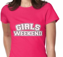 Girls weekend bachelorette party Womens Fitted T-Shirt