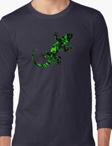 Psychedelic Geko Long Sleeve T-Shirt