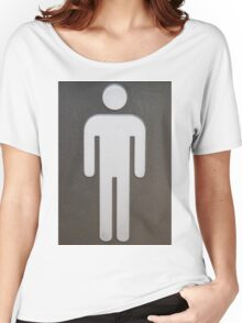 The Men's Room Women's Relaxed Fit T-Shirt