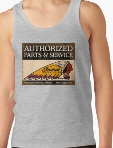 Indian Parts and Service sign Tank Top