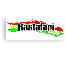 Rastafari Canvas Print