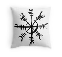 The Helm of Awe Throw Pillow