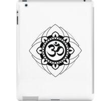 Yoga Ohm Mandala iPad Case/Skin