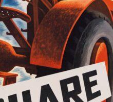 Share - Vintage WW2 Propaganda Poster  Sticker