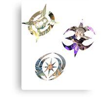 Fire Emblem Fates - Hoshido, Nohr & Valla Symbols Canvas Print